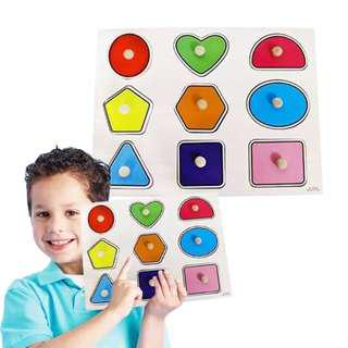 Education Wooden Peg Puzzle