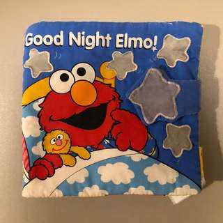 (包郵) Good Night Elmo 兒童布書
