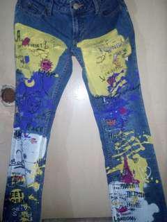 Old Navy jazzed up jeans
