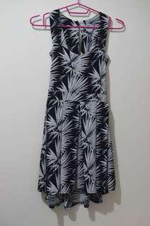 Tropical Sundress with back-tie