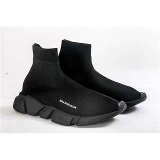 "Balenciaga Speed Trainers ""Triple Black"" Size 40"