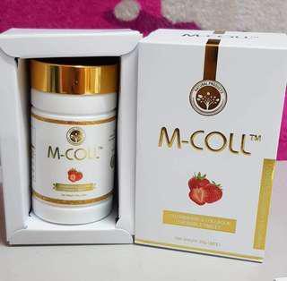 🍓日本进口M-COLL胶原蛋白美白糖 🍓 1 for RM160 2 for RM270 3 for RM380 5 for RM600