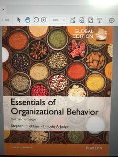 mno1706 Essentials of Organizational Behavior 13th ed