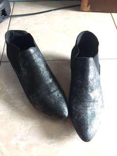 Zalora kitten boots