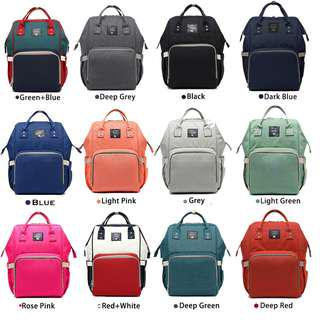 Mommy Daddy Diaper Bag Backpack
