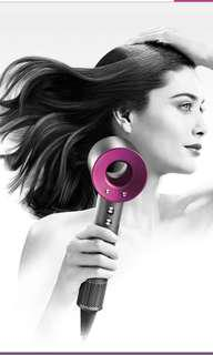 Dyson hairdryer-Pink