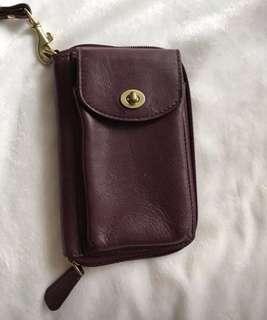 Coach wallet/wristlet/phone case