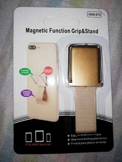 magnetic function and grip stand
