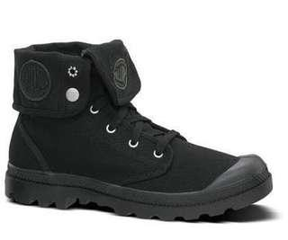 New Palladium Baggy Black Boot Womens size 7.5