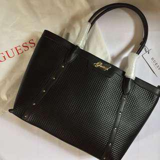Guess Black Carbry Tote Bag (BRAND NEW & AUTHENTIC)