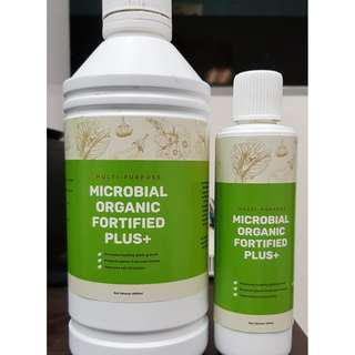 Microbial Organic Fortified Plus+ (MOFP) - Multi-Purpose Organic Fertiliser Concentrate (250ml)