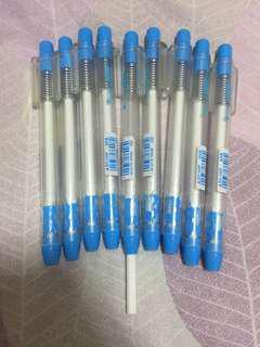 日本三菱 EH-105P 手壓式橡皮擦/按動橡皮/便攜式筆型橡皮擦