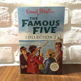 The Famous Five Collection 2 : Books 4-6 by Enid Blyton