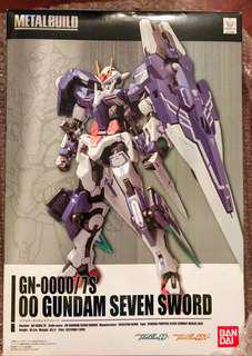 Metal Build 00 Gundam Seven Sword MB高達00七劍