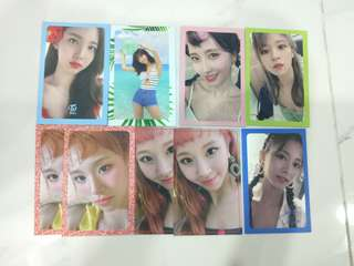 free mailing twice dance the night away photocards instock