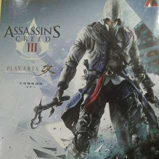 PLAY ARTS ASSASSINS CREED CONNOR