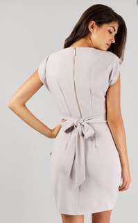Tie back dress