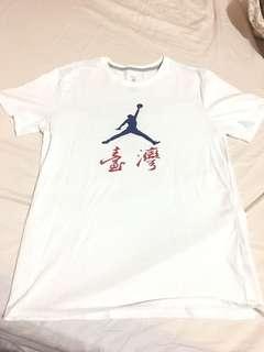 🚚 Jordan brand Taiwan tee 台灣限定T