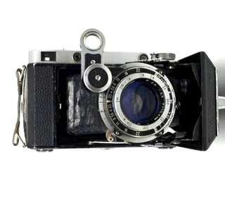 古董相機絶版 莫斯科 Moscow5 中幅120菲林6x6菲林 出片正常可操作 伸縮皮腔相機 Vintage camera