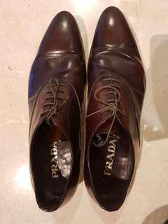 Bruciato Prada Leather Shoes