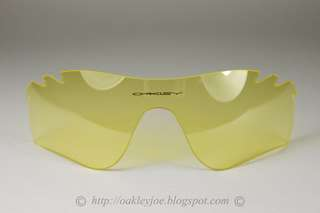 Oakley Radarlock Replacement Lens Clear Yellow Vented