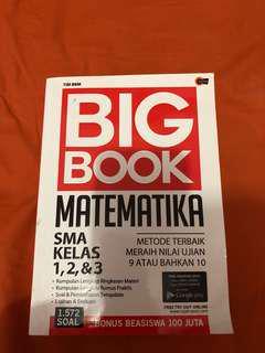 BIG BOOK MATEMATIKA SMA KLS 1,2,3