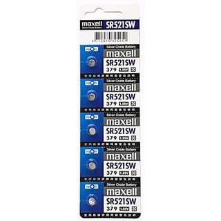 日本 Maxell 公司貨 1.5V 鈕扣電池 SR521SW 水銀電池 電池 鈕扣電池