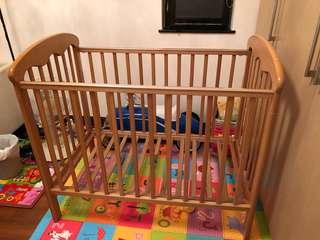Free baby cot, mattress hkd 300