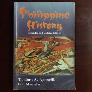 Philippine History by Teodoro A. Agoncillo