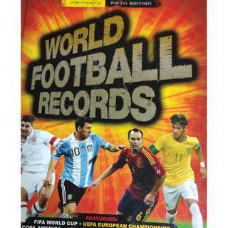 Used World Football Records Fifth Edition Hardcover Book (NEAREST MRT)