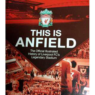 Used This Is Anfield Official Illustrated History Liverpool's Legendary Stadium