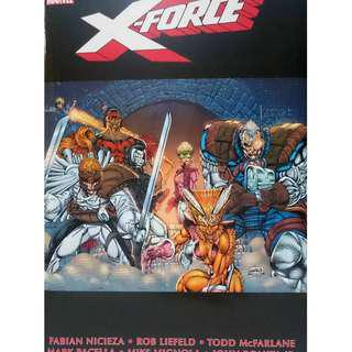 Used Marvel Omnibus X-Force Vol 1 Universe Legends Select Comics (NEAREST MRT)