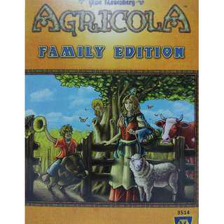 MISB Agricola Family Edition Board Game Boardgame