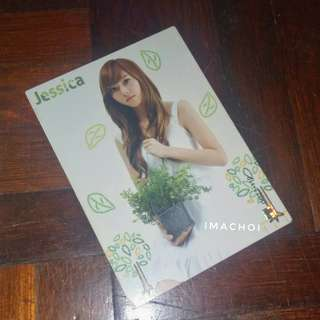 SNSD Star Card Season 2.5 Base Cards #1 - Jessica