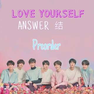 [CLOSED] BTS LOVE YOURSELF ANSWER 结 PO #3