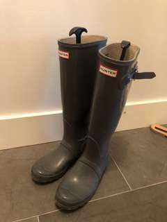 Hunter Rain Boots Grey (US7)