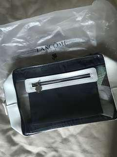 LANCOME MAKEUP BAG 容量大 化妝袋 透明 防水