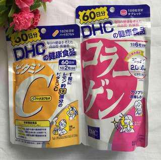 DHC Collagen & DHC Vit C Combo