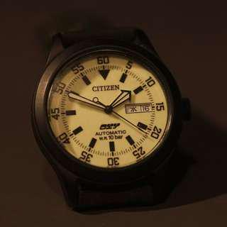 Citizen oxy automatic 夜光面 not seiko