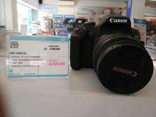 Kredit kamera DSLR Canon EOS 1500D