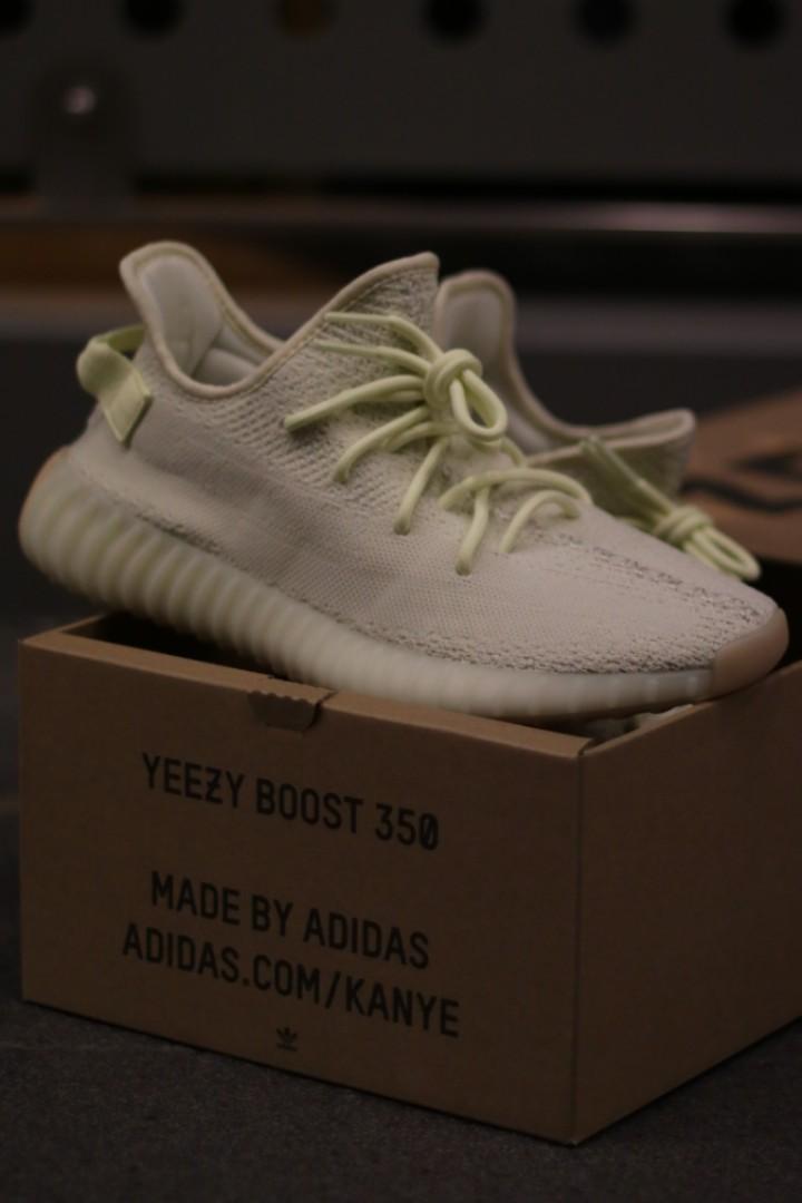 02612425fc0e6 Adidas Yeezy Boost 350 V2 Butter