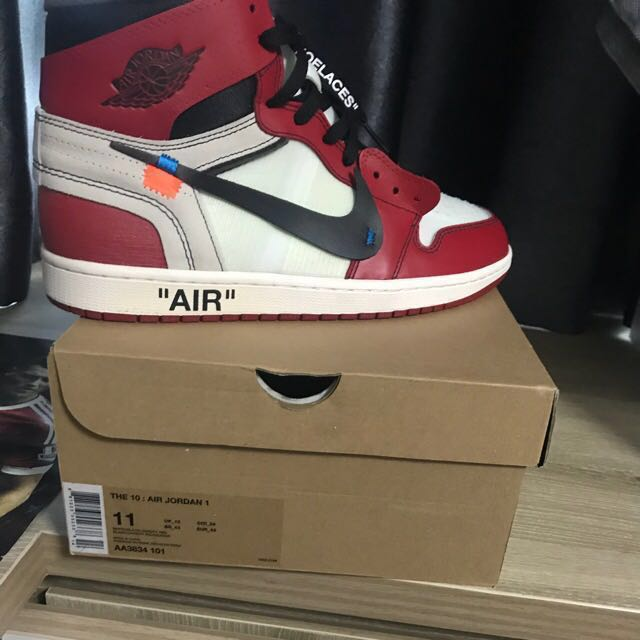 9fcf94653d05 Air Jordan 1 Chicago Off White