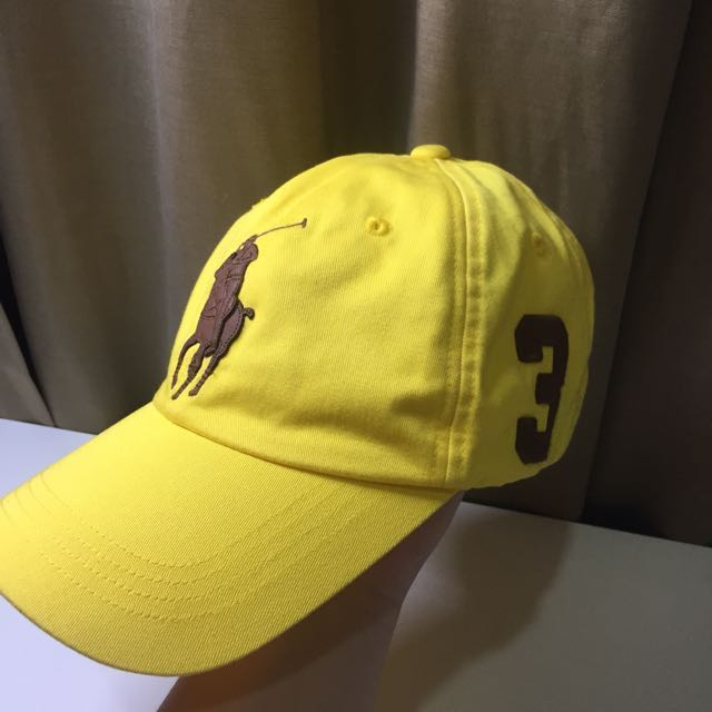 83968691a7b567 Authentic Polo Ralph Lauren cap, Sports, Sports Apparel on Carousell