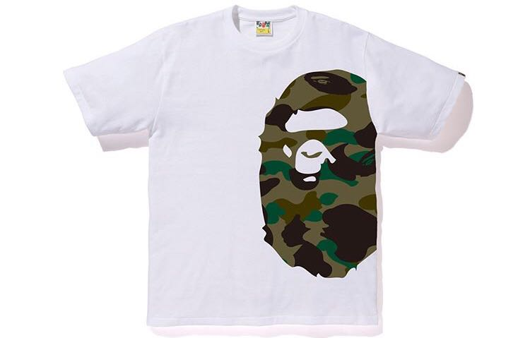 a96b91cb Bape 1st camo side big ape head tee, Men's Fashion, Clothes, Tops on ...