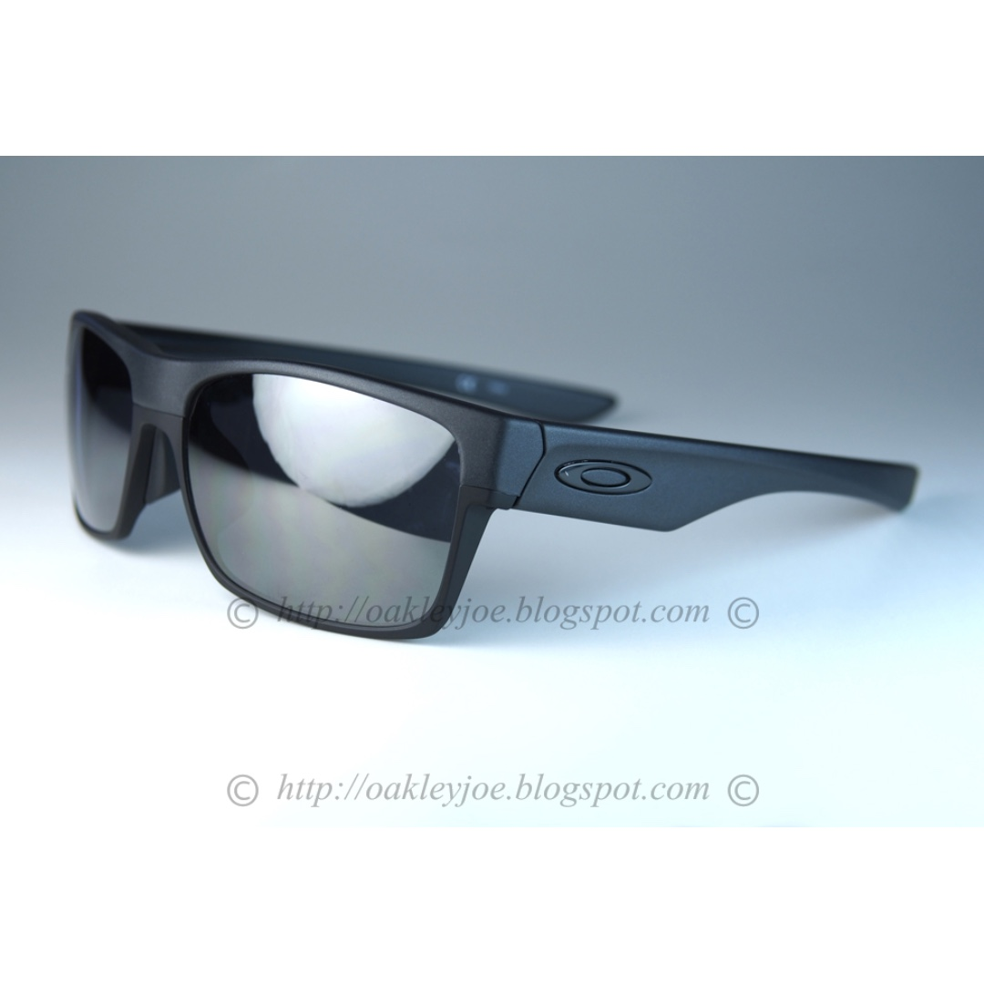 33e3cb222fd BNIB Oakley Twoface Asian Fit steel + black iridium oo9256-04 ...