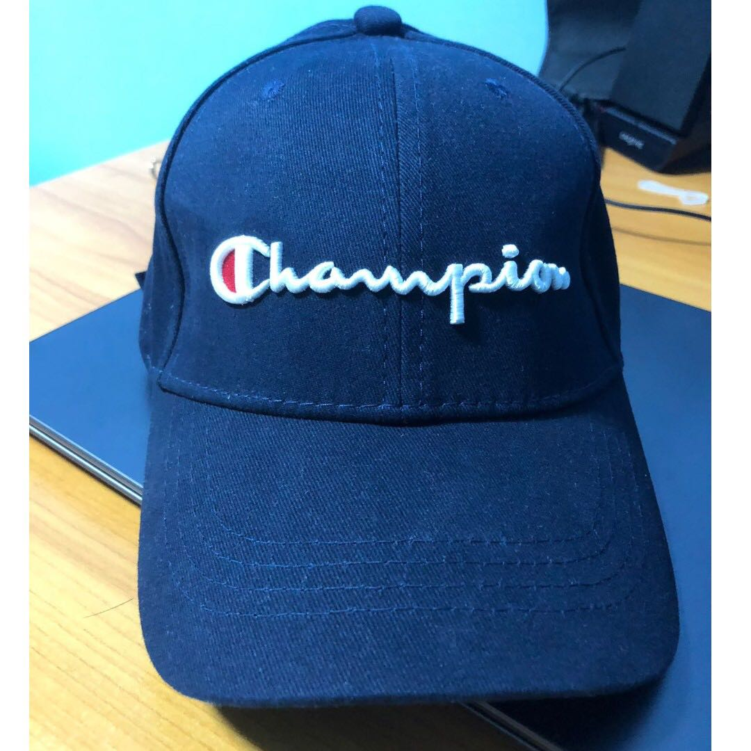 46b6d70eccea18 Champion Cap, Men's Fashion, Accessories, Caps & Hats on Carousell