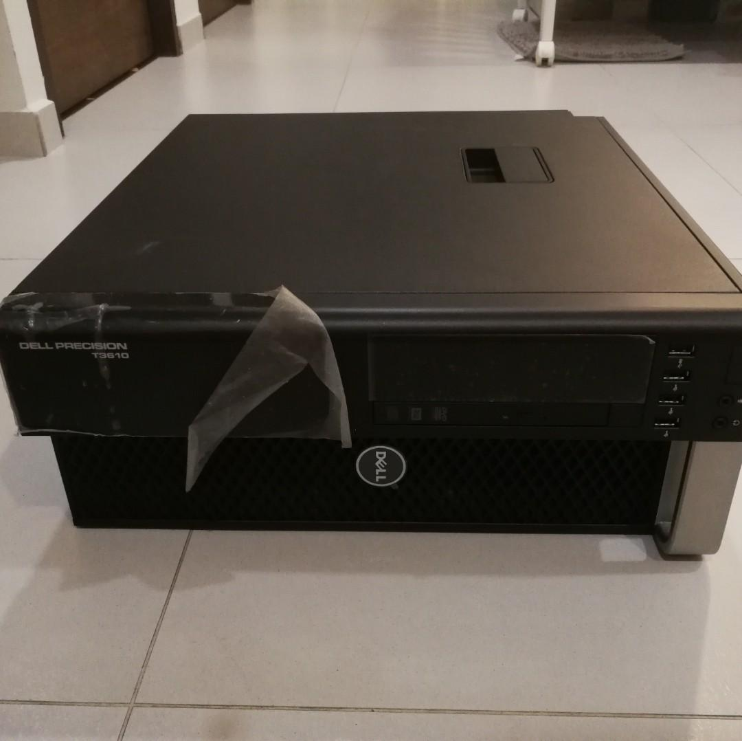 Dell Precision T3610 Workstation VR Gaming CAD, Intel Xeon