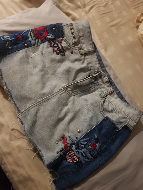 77af1297a Desigual denim skirt, Women's Fashion, Clothes, Dresses & Skirts on ...