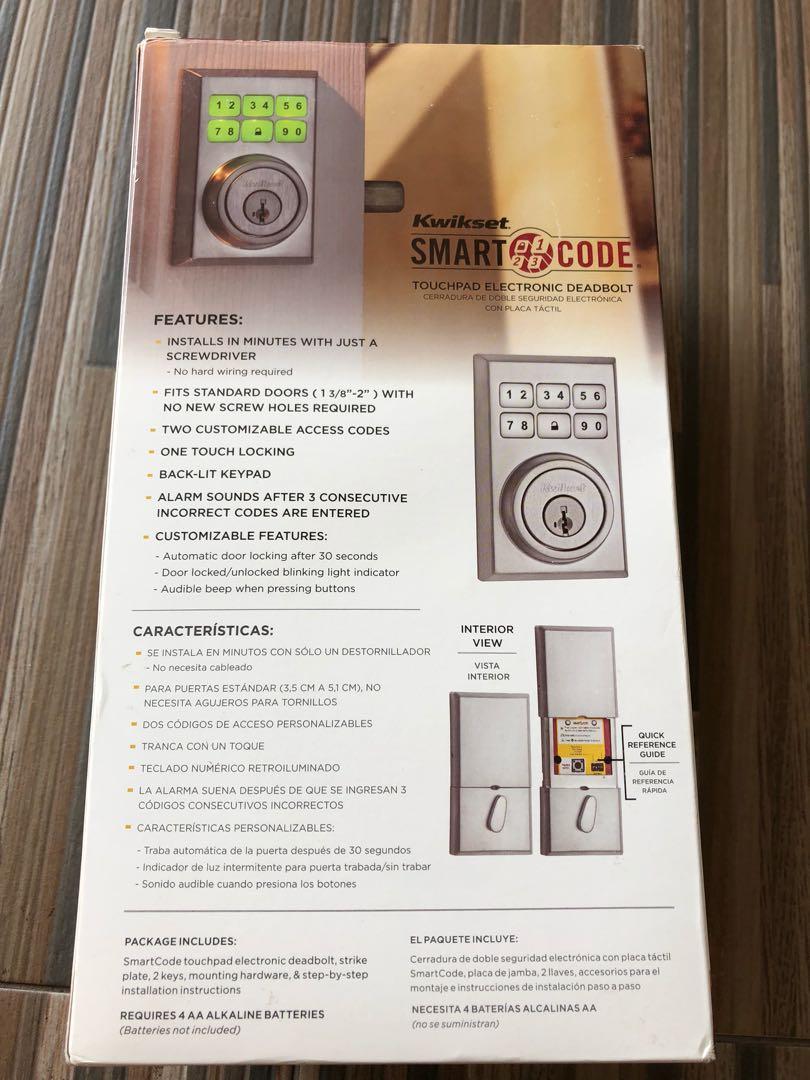 Door lock kwikset smart lock