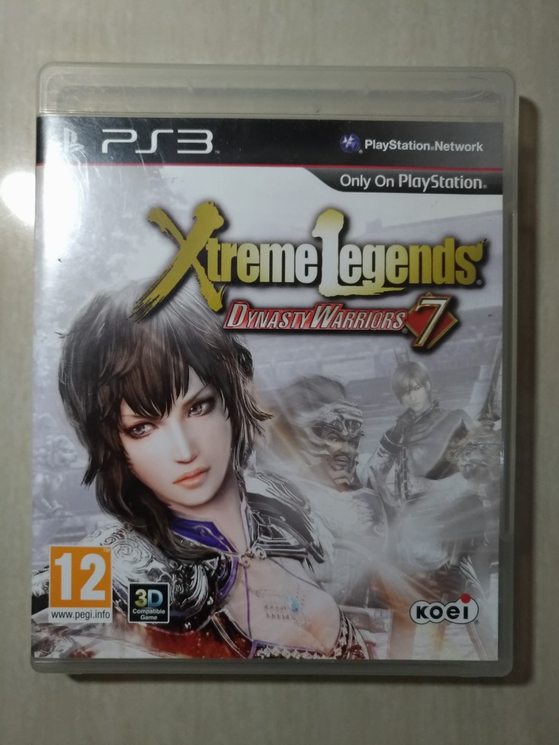 Dynasty Warriors Xtreme Legends Video Game Di Carousell Psn Card Indonesia Idr 225000